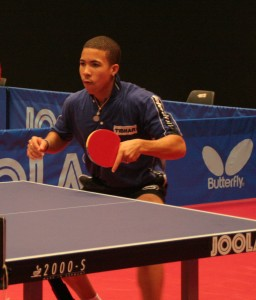 "Andy PEREIRA from Cuba - Top ""MOVER"" at the ITTF WJCF"