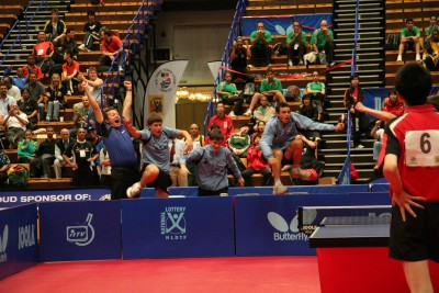 The ITTF Photo of the year ?  Team Europe